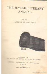 The Jewish literary annual (1906) - Hyamson, Albert M. (szerk.) - Régikönyvek