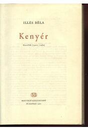 Kenyér - Illés Béla - Régikönyvek
