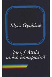 József Attila utolsó hónapjairól - Illyés Gyuláné - Régikönyvek