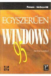 Egyszerűen Windows 95 - Inotai László - Régikönyvek