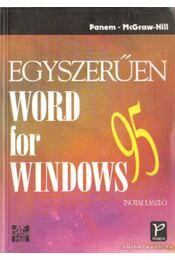 Egyszerűen Word for Windows 95 - Inotai László - Régikönyvek