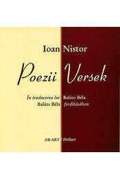 Poezii - Versek - Ioan Nistor - Régikönyvek