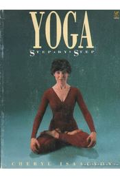 Yoga step by step - Isaacson, Cheryl - Régikönyvek