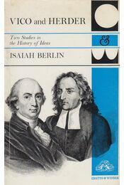 Vico and Herder - Isaiah Berlin - Régikönyvek