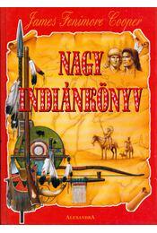 Nagy indiánkönyv - J. F. Cooper - Régikönyvek