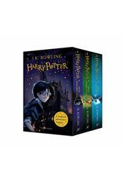 Harry Potter 1-3 Box Set - J. K. Rowling - Régikönyvek