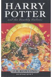 Harry Potter and the Deathly Hallows - J. K. Rowling - Régikönyvek