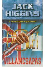 Villámcsapás - Jack Higgins - Régikönyvek