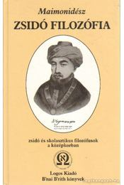 Maimonidész - Zsidó filozófia - Jacob Guttmann, Isaac Husik, Scheiber Sándor - Régikönyvek