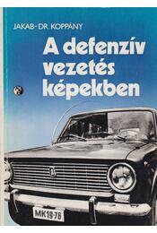 A defenzív vezetés képekben - Jakab Ferenc, Dr. Koppány Géza - Régikönyvek