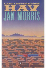 Last Letters from Hav - Jan Morris - Régikönyvek