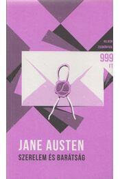 Szerelem és barátság - Jane Austen - Régikönyvek