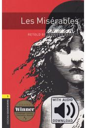 Les Miserables - Oxford Bookworms Library 1 - MP3 Pack - Jennifer Bassett - Régikönyvek