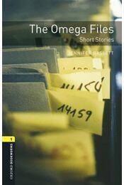 The Omega Files - Oxford Bookworms Library 1 - MP3 Pack - Jennifer Bassett - Régikönyvek
