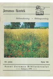 Jeromos füzetek 32. szám - Tarjányi Béla - Régikönyvek