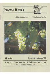 Jeromos füzetek 37. szám - Tarjányi Béla - Régikönyvek