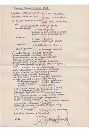 Eötvös József szobra előtt (kézirat) - Jobbágy Károly - Régikönyvek