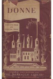 John Donne Dean of St. Paul's complete poetry and selected prose - John Hayward - Régikönyvek