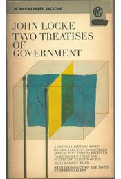 Two Treatises of Government - JOHN LOCKE - Régikönyvek