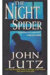 The Night Spider - John Lutz - Régikönyvek