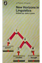 New Horizons in Linguistics - John Lyons - Régikönyvek