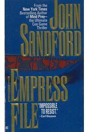 The Empress File - John Sandford - Régikönyvek