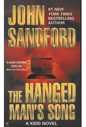 The Hanged Man's Song - John Sandford - Régikönyvek