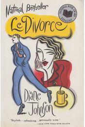 Le Divorce - Johnson, Diane - Régikönyvek