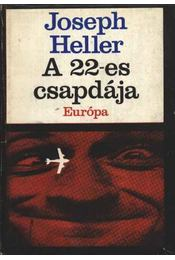 A 22-es csapdája - Joseph Heller - Régikönyvek