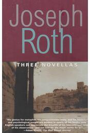 Three Novellas - Joseph Roth - Régikönyvek