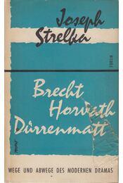 Brecht Horváth Dürrenmatt - Joseph Strelka - Régikönyvek