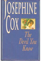 The Devil You Know - Josephine Cox - Régikönyvek