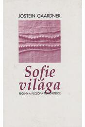 Sofie világa - Jostein Gaarder - Régikönyvek