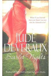 Scarlett Nights - Jude Deveraux - Régikönyvek