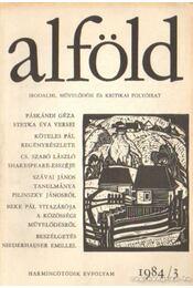 Alföld 1984/3. - Juhász Béla - Régikönyvek