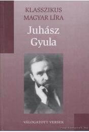 Versek - Juhász Gyula - Régikönyvek