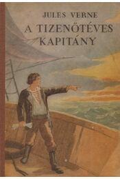 A tizenötéves kapitány - Jules Verne - Régikönyvek