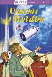 Olvass velünk! (4) - Utazás a Holdba - Jules Verne - Régikönyvek