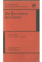 Die Revolution des Geistes - Jürgen Gebhardt - Régikönyvek