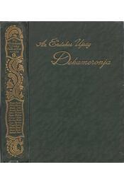 Az érdekes ujság dekameronja IX. kötet - Kabos Ede - Régikönyvek