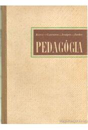Pedagógia - Kairov-Goncsarov-Jeszipov-Zankov - Régikönyvek