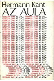 Az aula - Kant, Hermann - Régikönyvek