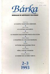 Bárka 1993/2-3. - Kántor Zsolt - Régikönyvek
