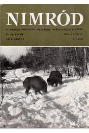 Nimród 1974. évfolyam (teljes) - Karczag Iván(főszerk.) - Régikönyvek