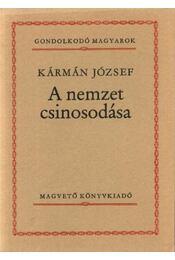 A nemzet csinosodása - Kármán József - Régikönyvek