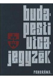 Budapesti utcajegyzék 1974 - Károly István dr. - Régikönyvek