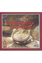 Diétás ételek gabonából - Katona Zsuzsa - Régikönyvek