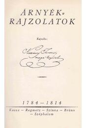 Árnyékrajzolatok - Kazinczy Ferenc - Régikönyvek