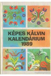 Képes Kálvin Kalendárium 1989. - Régikönyvek