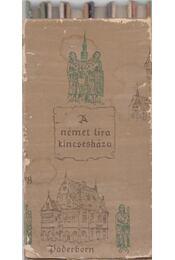 A német líra kincsesháza 1-6. - Keresztury Dezső - Régikönyvek